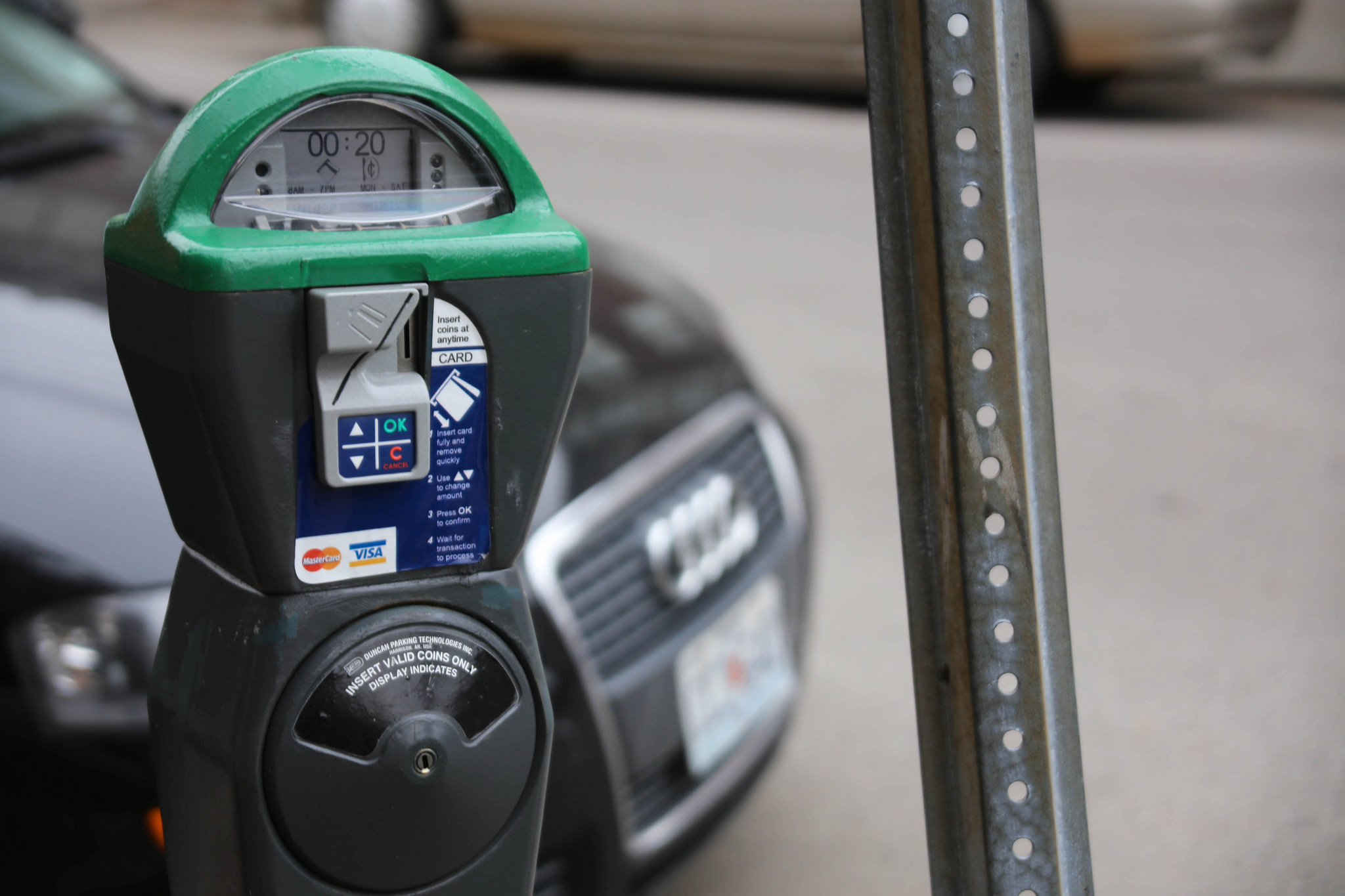 Parking Meters in Commercial Districts