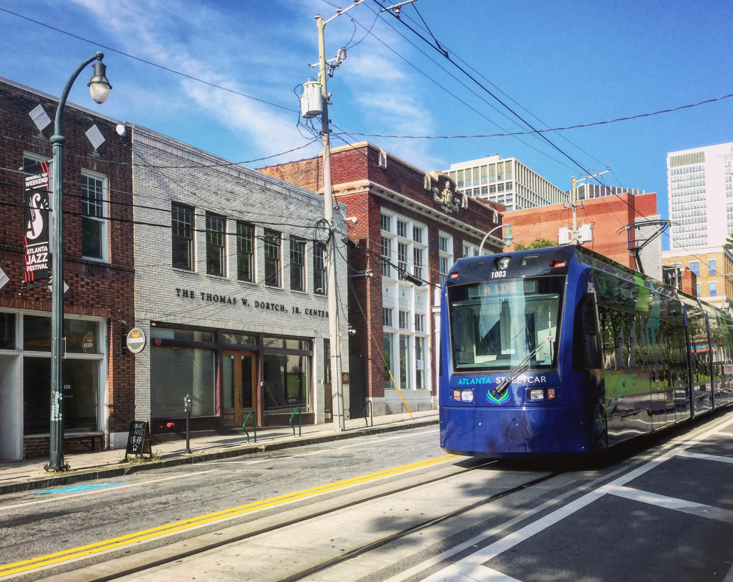 Why does the Atlanta Streetcar keep closing during big events?