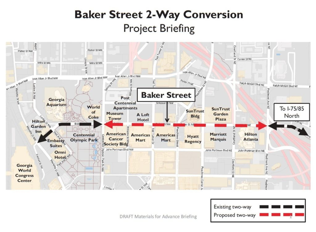 Baker Street plan