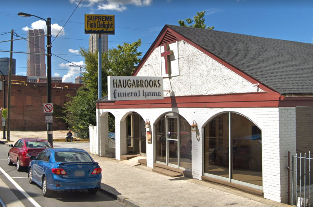 Haugabrooks building on Auburn Avenue