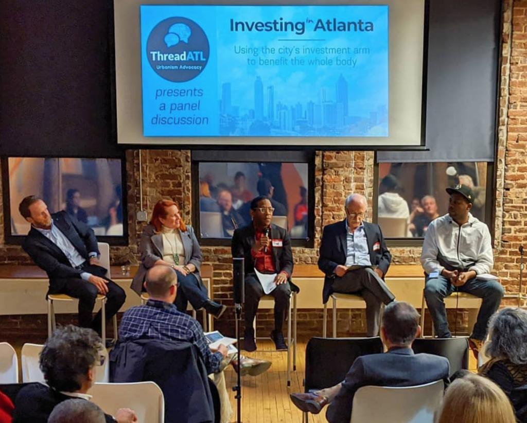 Invest Atlanta panel