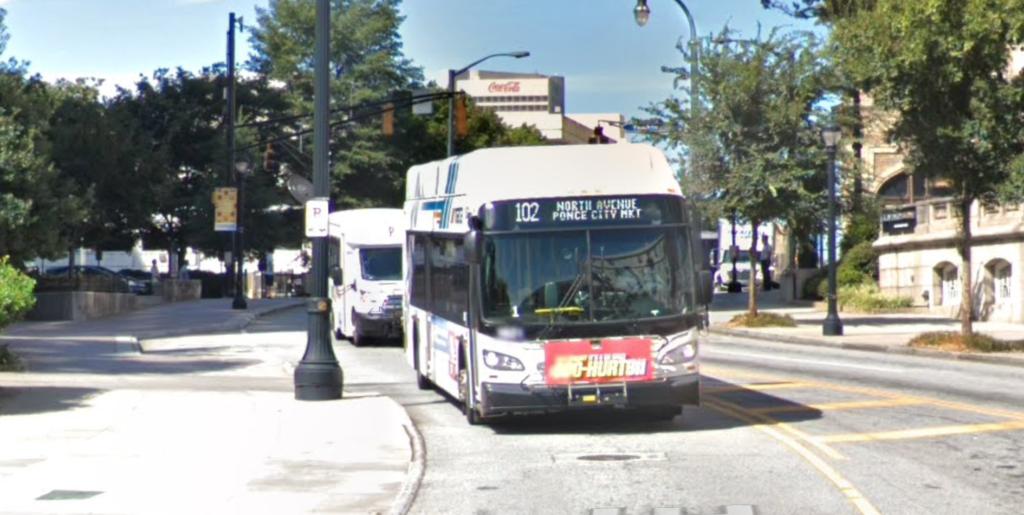 MARTA bus 102